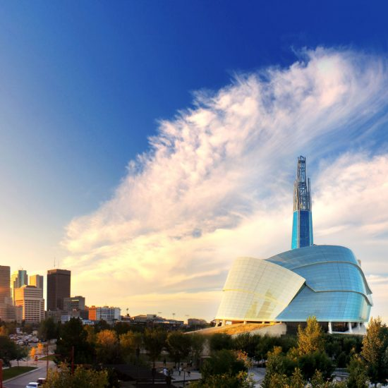 Winnipeg, Canada, city skyline