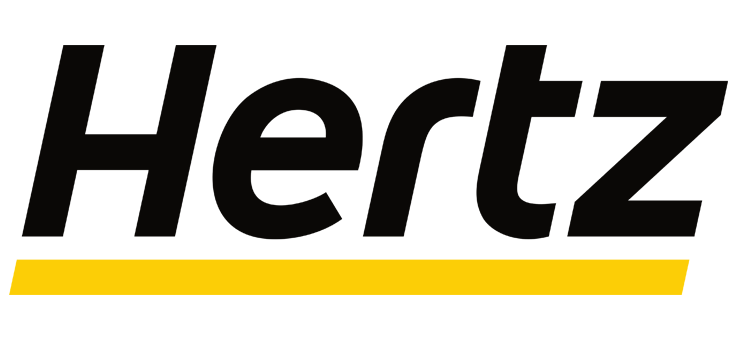 Hertz car rental.