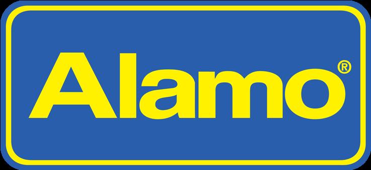Alamo car rental.