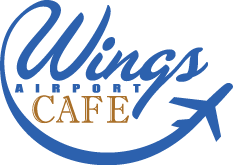 Wings Airport Cafe Logo