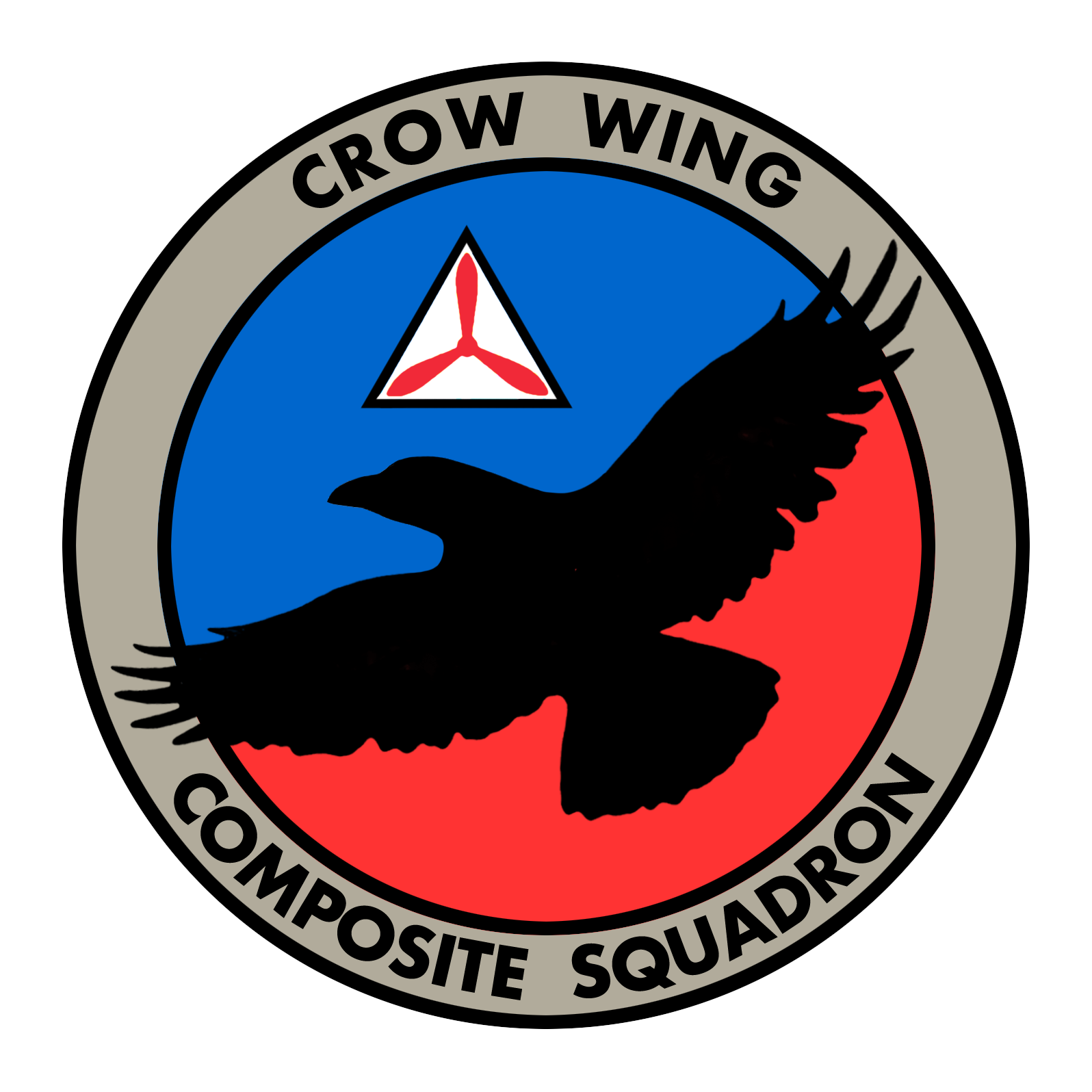 Crow Wing Composite Squadron Logo